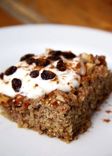 Apple and Cinnamon Quinoa Cake