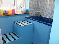 escada para banho e tosa