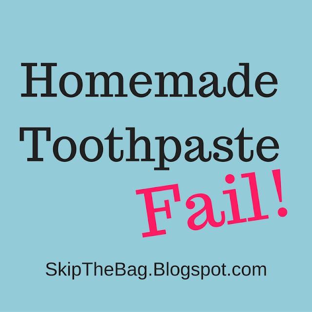 zero waste toothpaste diy