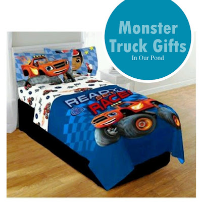 Monster Truck Gift Guide from In Our Pond #toys #christmas #monstertruck #holidays
