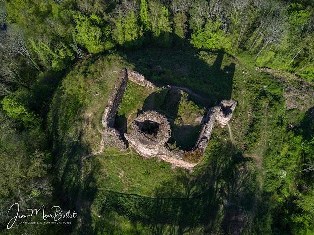 Château du Hugstein — État avril 2017