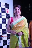 Bollywood Actress Raveena Tandon in Transparent Green Saree at Trailer Launch Of Film Maatr  0014.JPG