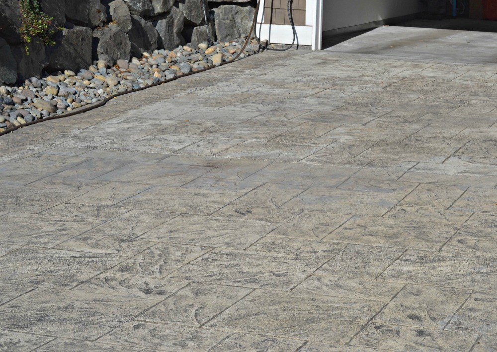 How to stain stamped concrete you can do it yourself rachel teodoro you solutioingenieria Choice Image