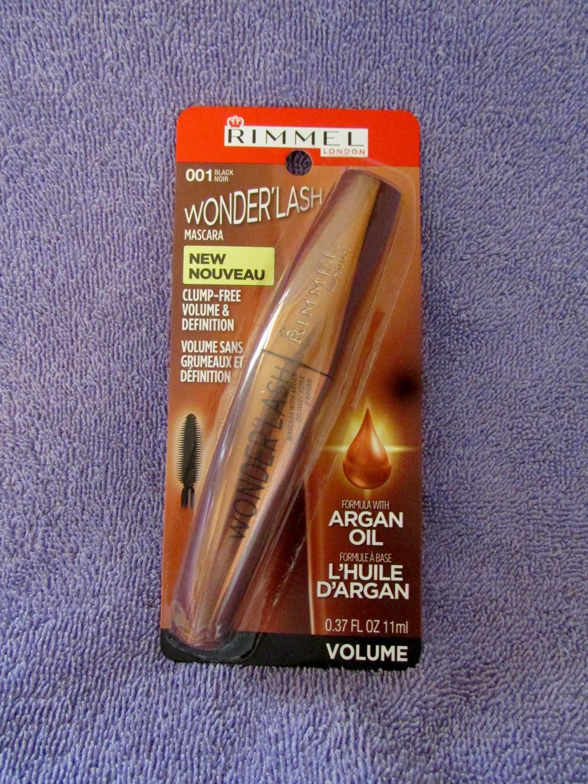 c6c77f2457c Heck Of A Bunch: Rimmel London Wonder'lash Mascara with Argan Oil ...