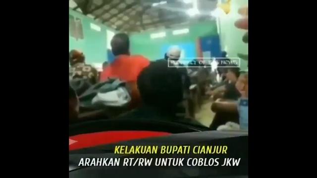 Bupati Cianjur Serukan Warga Pilih Jokowi, Kades yang Sapa Sandiaga Malah jadi Tersangka