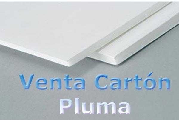 venta carton pluma