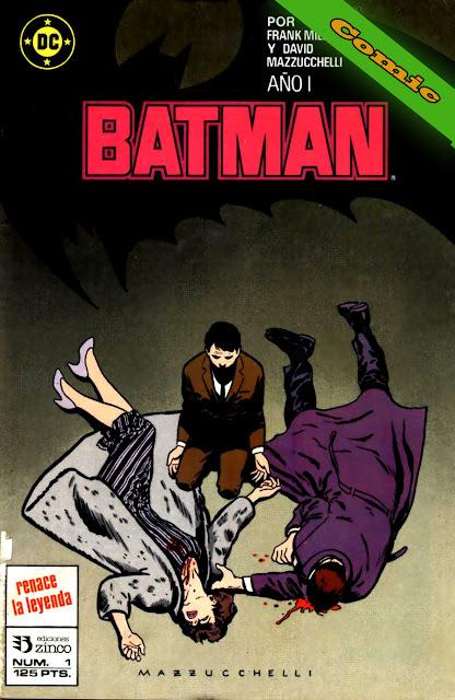 Batman - Año Uno - Portada