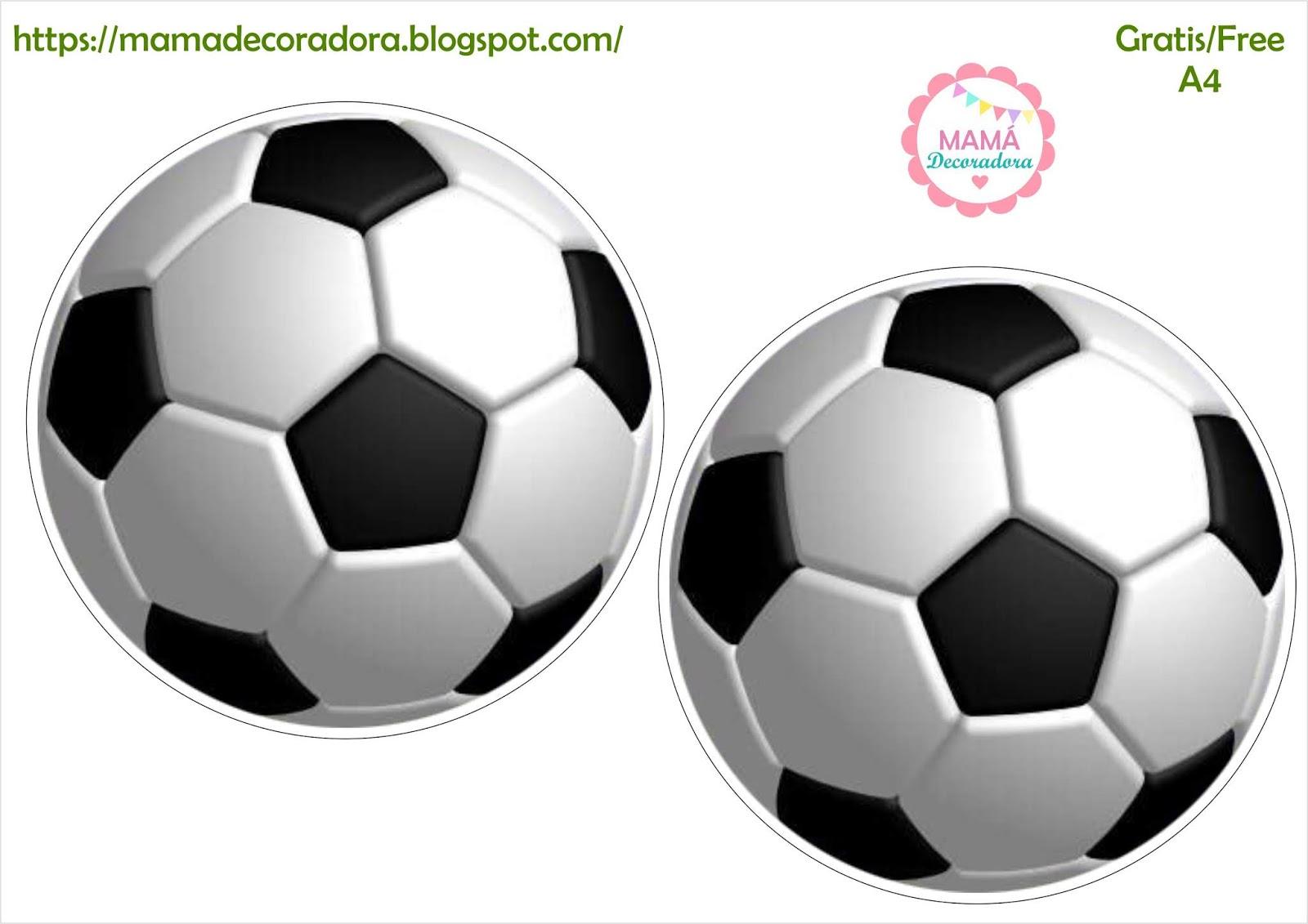 Mamá Decoradora Kit Imprimible Futbol Gratis