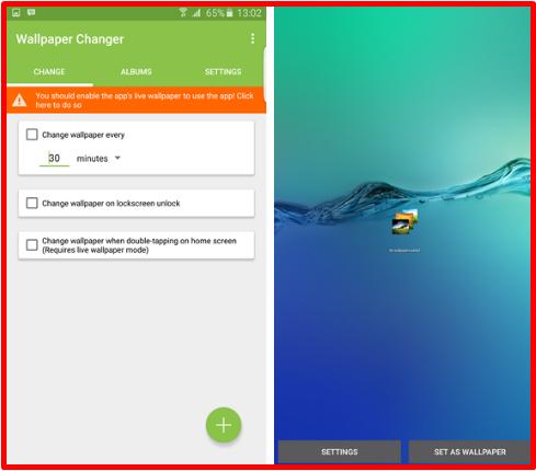 Cara Mengubah Wallpaper Secara Otomatis Dan Berkala Di Android