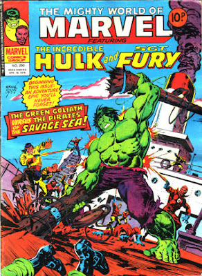 Mighty World of Marvel #290, Incredible Hulk.