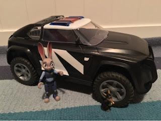 Judy's Police Cruiser
