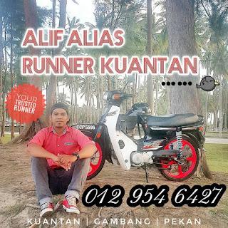 servis runner, runner service, runner kuantan
