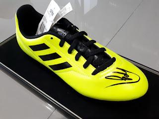 Sepatu Bola Tanda Tangan Kevin de Bruyne Bersertifikat KDB001