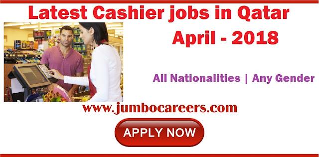 Cashier jobs in Qatar