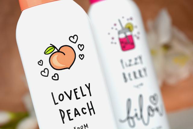 Bilou Cremiger Duschschaum Fizzy Berry und Lovely Peach | Neue Bilou Sorten | Lovely Peach