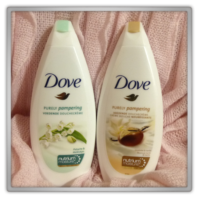 Dove purely pampering douchecreme sheaboter vanille pistache meiklokjes