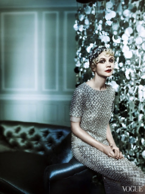 Carey Mulligan for Vogue US May 2013