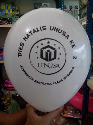 Balon Sablon DIES NATALIS UNIVERSITAS NAHDLATUL ULAMA SURABAYA