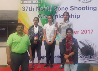 Punjab Shooters Dominating in North Zone Shooting Championship