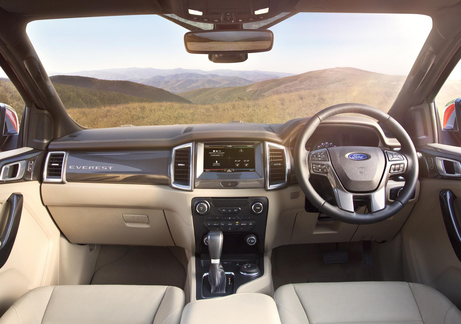 Ford sẽ sản xuất Everest hoàn toàn mới tại Nam Phi