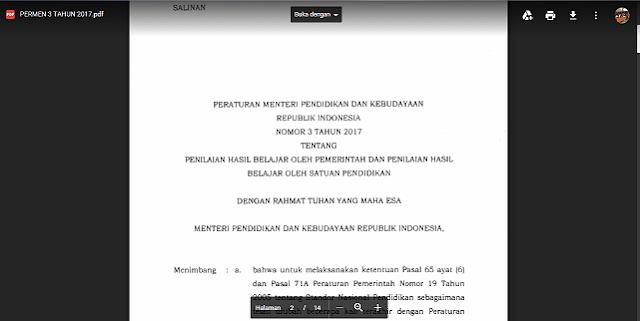 Wajib Simpan!! Peraturan Penilaian Hasil Belajar 2017 Sesuai Permendikbud 3