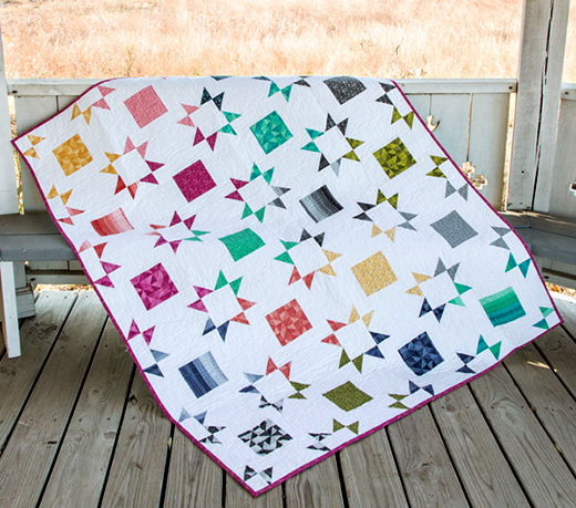 Shortcut Layer Cake Quilt Free Pattern