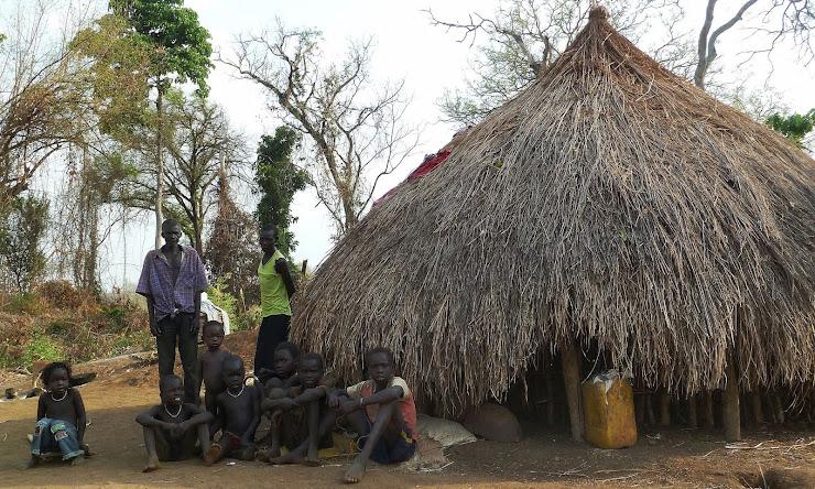 A family in Kir, Gambella