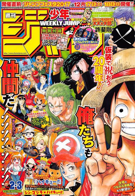 Weekly Shonen Jump-2-3-2017