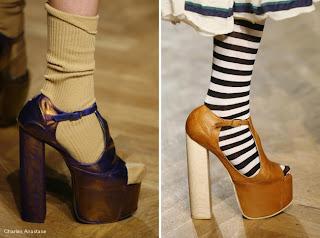 diseño de zapatilla exótica