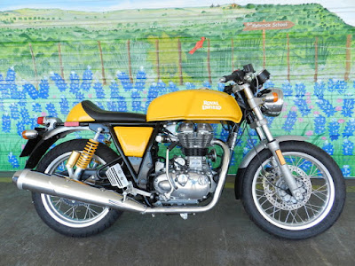 Royal Enfield Continental GT Yellow image hd