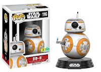 Pop! Star Wars: The Force Awakens - Thumbs Up BB-8.