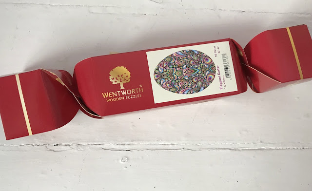 wentworth jigsed cracker in a red cracker box