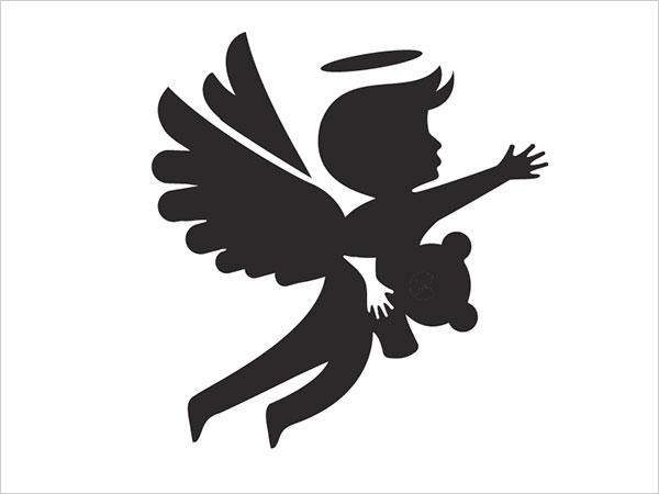 Contoh Desain Logo Negative Space - 19