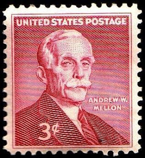 Andrew William Mellon, Secretary of the Treasury - United States Stamp