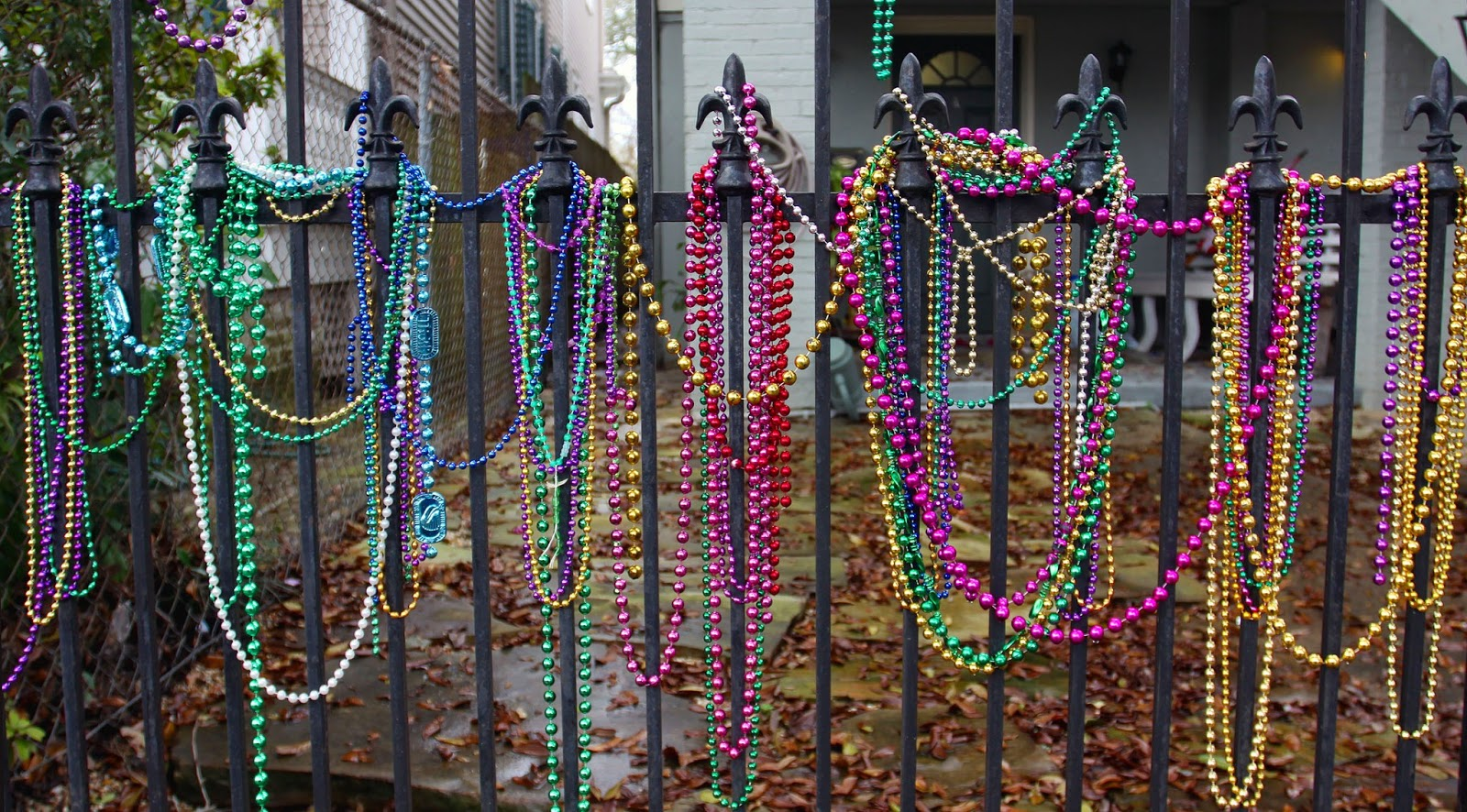 New Orleans Eclectics Mardi Gras Beads