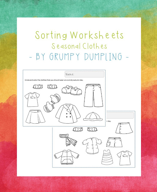 https://www.teacherspayteachers.com/Product/Worksheets-with-Seasonal-Clothes-FLASH-FREEBIE-2600146