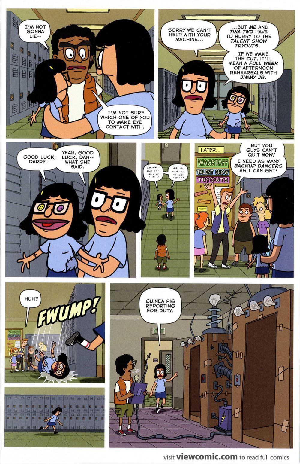 Free Bobs Burgers Porn free comic book day 2016 – bob's burgers … | viewcomic