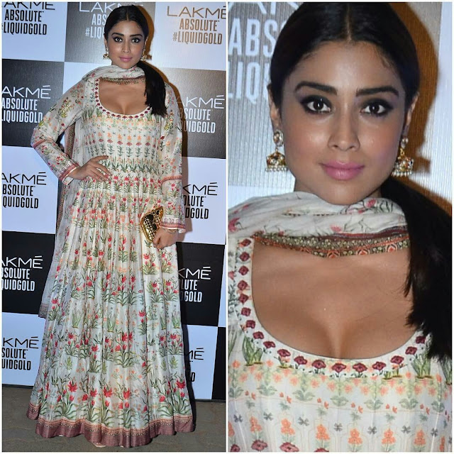 Shriya saran at lakme fashion week 2017