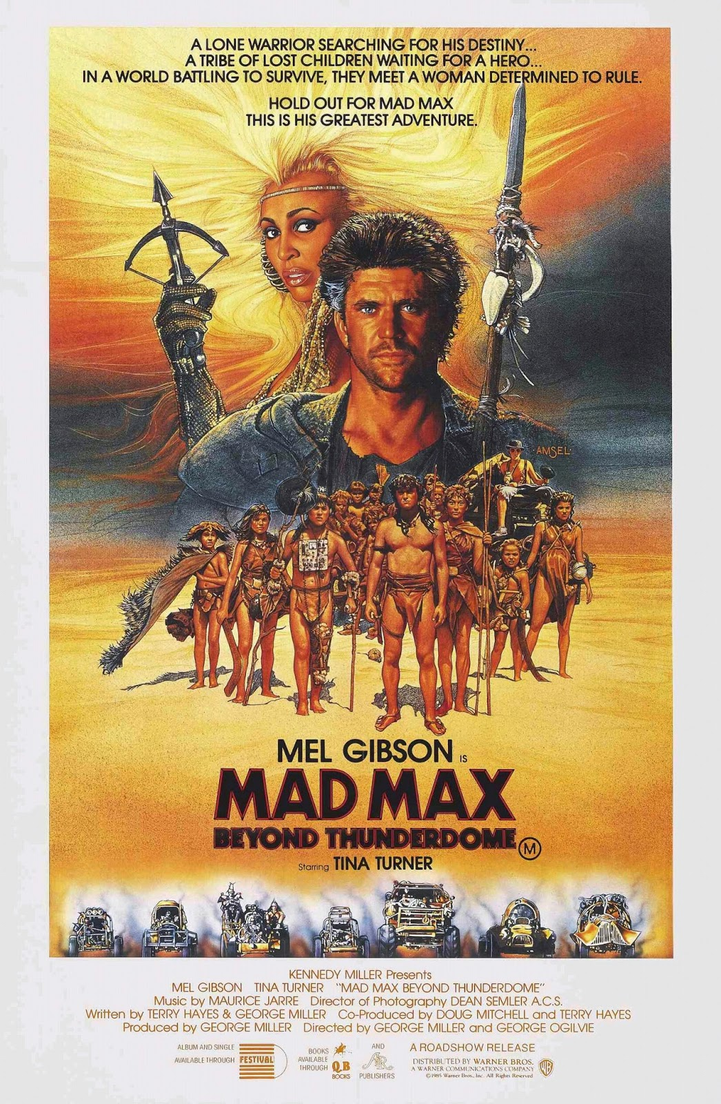 Polster Max Happyotter Mad Max Beyond Thunderdome 1985