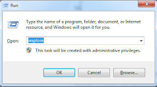 Open Internet Explorer From Run in Windows