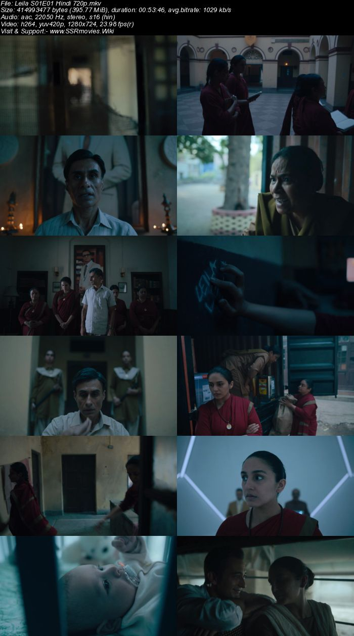 Leila (2019) S01 Hindi Complete 720p 480p HDRip Download