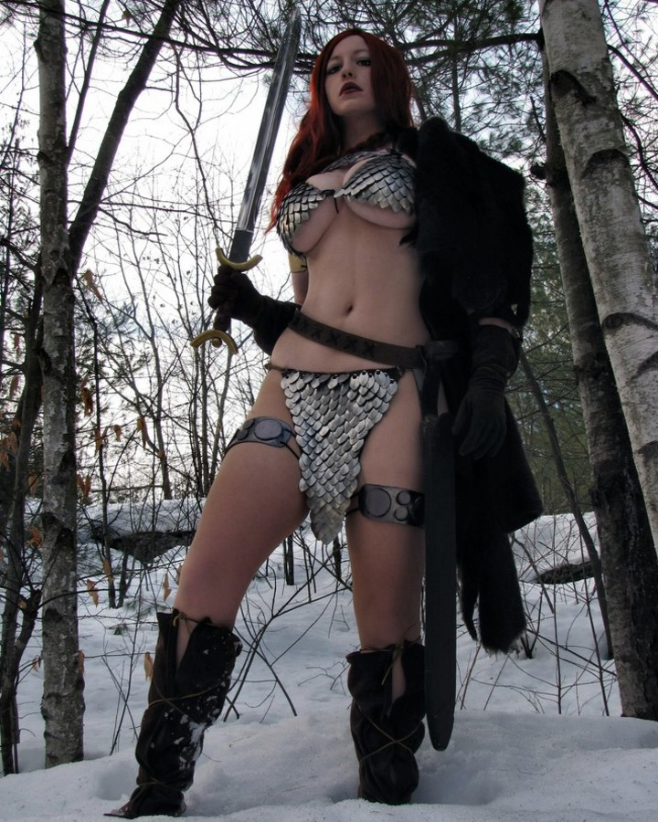 As melhores cosplay da Red Sonja da Internet