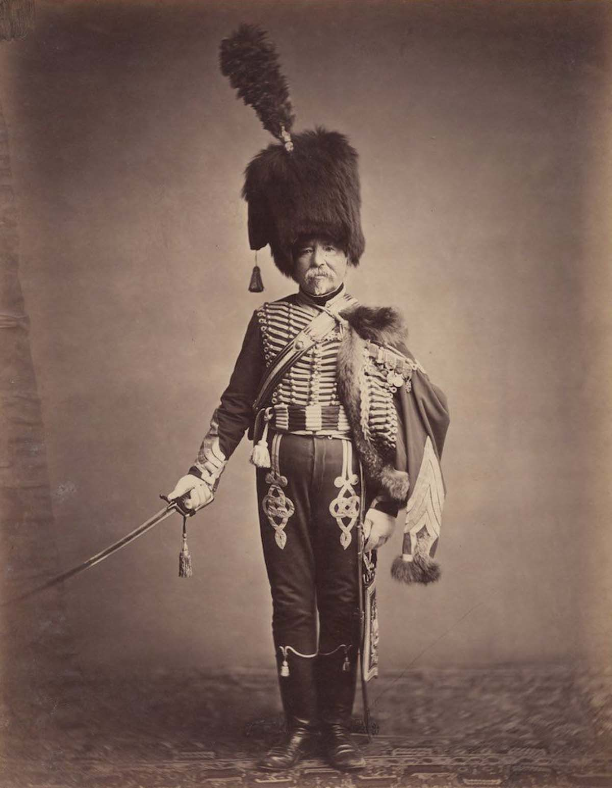 Quartermaster Fabry of the 1st Hussars.