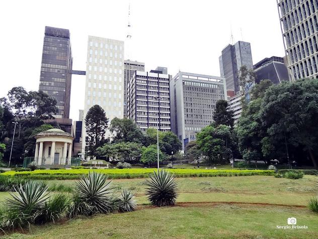 Vista ampla de parte do Parque Tenente Siqueira Campos - Parque Trianon - Bela Vista - São Paulo