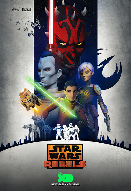 Star Wars Rebels Season 3 Teaser One Sheet Television Poster