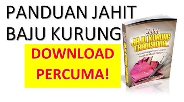 Download Ebook Jahit Baju Kurung Tradisional PERCUMA