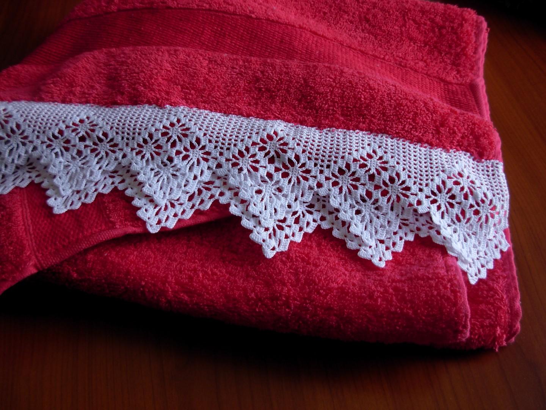 Creazioni Alluncinetto Asciugamani Con Un Tocco In Più 2