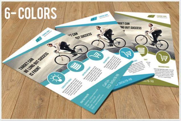 45 contoh brosur dan desain brosur yang menarik for Flyer inspiration
