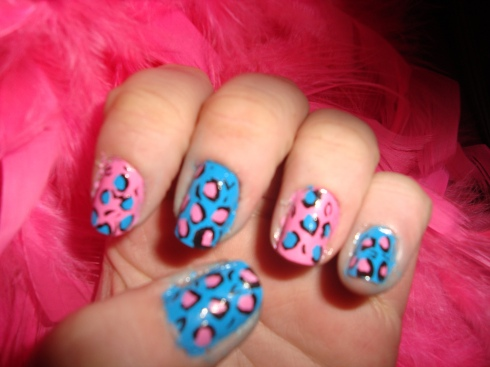Beauty Best Nail Art: Summer Leopard Print Nail Art Collection