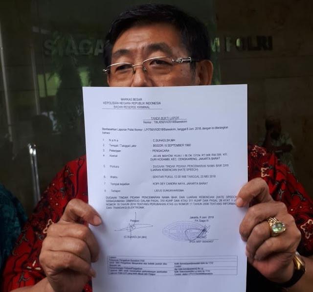 Suarakan Jokowi Satu Periode, Lieus Sungkharisma Dilaporkan ke Bareskrim